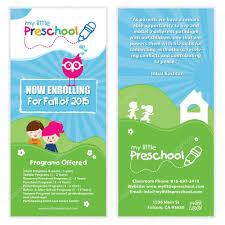 kids preschool flyer template u2014 stock vector smk0473 130146630