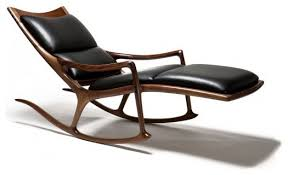 Armchair Chaise Lounge Rocking Chair Chaise Lounge By Sam Maloof Woodworker Inc