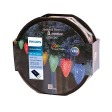 philips 80ct led spool 8 function faceted c9 string