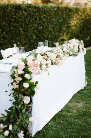 bridal decorations 40 ways to decorate your wedding with floral garlands