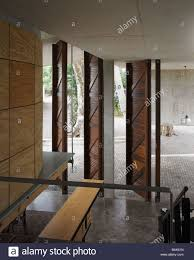 iti office entrance with double height doors stock photo royalty