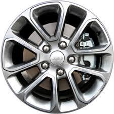 jeep grand cherokee wheels aly9136u90 mabrt jeep grand cherokee wheel grey machined 1vh40dd5aa
