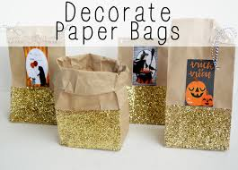 halloween goody bags decorate paper bags jaderbomb