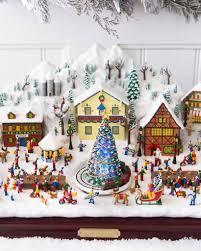 michael storrings animated christmas village balsam hill