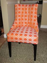 Orange Dining Room Chairs Dining Room Chairs And Parson Chairs