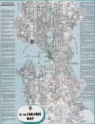 Seattle Subway Map by Punkrawker Blogs On Seattle Transit System Map 1958