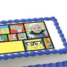 spongebob squarepants photo edible image cake decoration