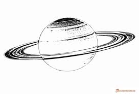 planets coloring pages free black and white printables