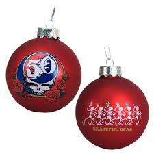 anniversary ornament grateful dead 50th anniversary 3 1 4 inch ornament kurt