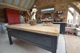 kitchen island worktops uk adistressed oak worktop bleached sloane chalk paint quooker