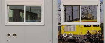 bureau sncf bâtiment préfabriqué modulaire pour bureau en acier galvanisé