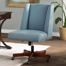 Leather Rolling Chair Traditional Office Chairs You U0027ll Love Wayfair