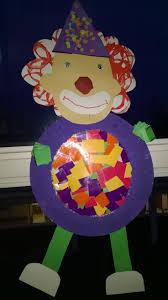 31 best knutselen carnaval images on pinterest clowns circus