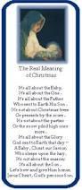 true meaning of christmas poem talkinggames