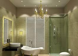 bathroom modern bathroom with halogen lighting idea also led