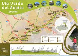 Andalucia Spain Map by Del Aceite Greenway Spanish Green Ways Itineraries