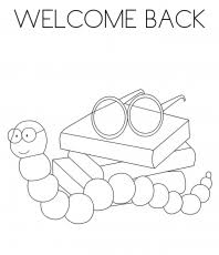 welcome back coloring pages coloring home