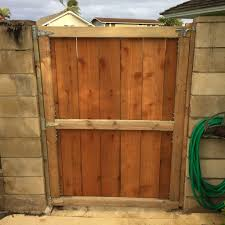 building a fence gate 6 steps with pictures