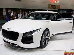 hyundai supercar hyundai genesis blue2 fuel cell concept car genho