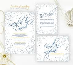 Wedding Invitation Packages Silver Wedding Invitations Lemonwedding
