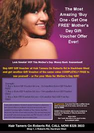 amazing buy one get one free mother u0027s day vouchers hair tamers