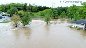 spirit halloween branson mo immense force of water ripped 2 bridges completely away modot on
