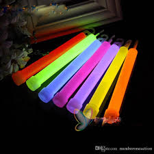 christmas sticks with lights multi color led neon rave christmas glow sticks party light