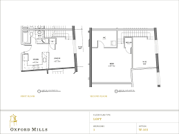 One Bedroom Floor Plans For Apartments by Floor Plans