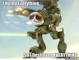 Mad Cat Memes - mad cat by wsdpii meme center