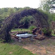 made from an old trampoline frame my stuff pinterest
