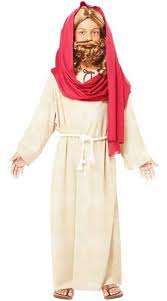 jesus boys biblical fancy dress costume kids jesus costume