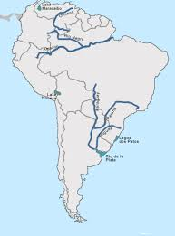 america map of rivers test your geography knowledge south america rivers and lakes