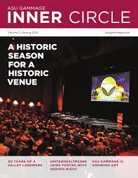 Kristine Brabson by Asu Gammage Inner Circle Vol 1 Issue 1 By Asu Gammage Issuu