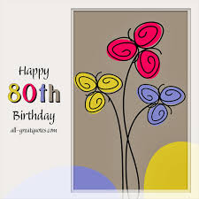 happy 80th birthday facebook greeting cards