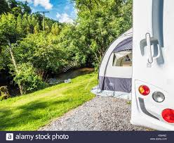 Small Caravan Awnings Caravan Awning Stock Photos U0026 Caravan Awning Stock Images Alamy