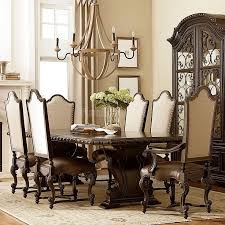 Best Inspired Dining Rooms Images On Pinterest Cart Dining - Dining room sets with upholstered chairs