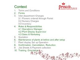 Terms And Conditions 5 Directives Plant Display Directives May Context 1 Terms And