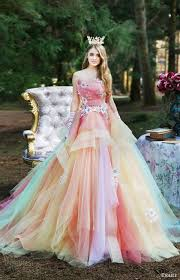 colored wedding dresses multi colored wedding dresses watchfreak women fashions