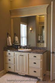 Framed Bathroom Mirror Bathroom Design Amazing Washroom Vanity Wood Framed Bathroom