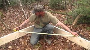 building a tent platform youtube