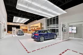 audi dealership design project details