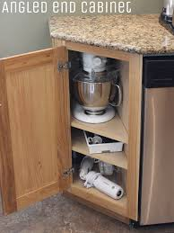 kitchen remodel and cabinets in rock island il angled base cabinet