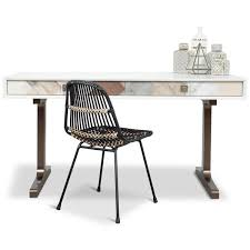 Modern Desk Modern Desks Lucite White Lacquer Wood More Modshop