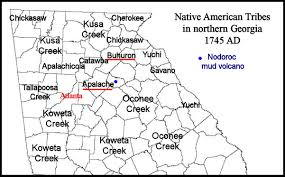 Georgia Counties Map The Mysterious Bohuron Tribe In Northeast Georgia Native