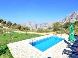 typical old dalmatian stone holiday house with pool dalmatia