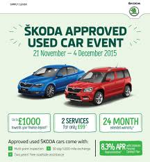 peugeot approved used skoda approved used car event bristol street motors