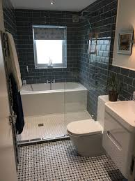 Bathroom And Shower Best Look At The Great Use Of Space With A Bath And Shower In This