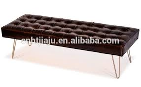 leather metal benches wholesale metal bench suppliers alibaba