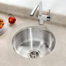 Round Kitchen Sink by Houzer Club 17 5