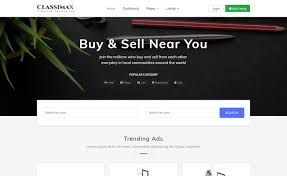 bootstrap 4 classified website template download from themewagon